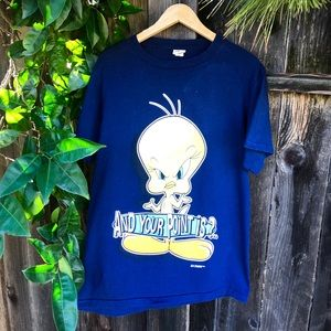🐥🐥 Vintage 90s Looney Tunes tee shirt
